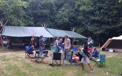 Scouts ZoKa 2018 – Kampeerterrein Staelduin, 's-Gravenzande