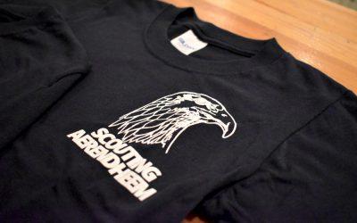 Scouting Aerendheem heeft nieuwe t-shirts